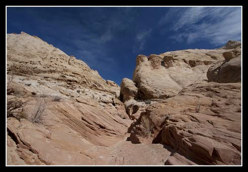 Little Wild Horse Canyon