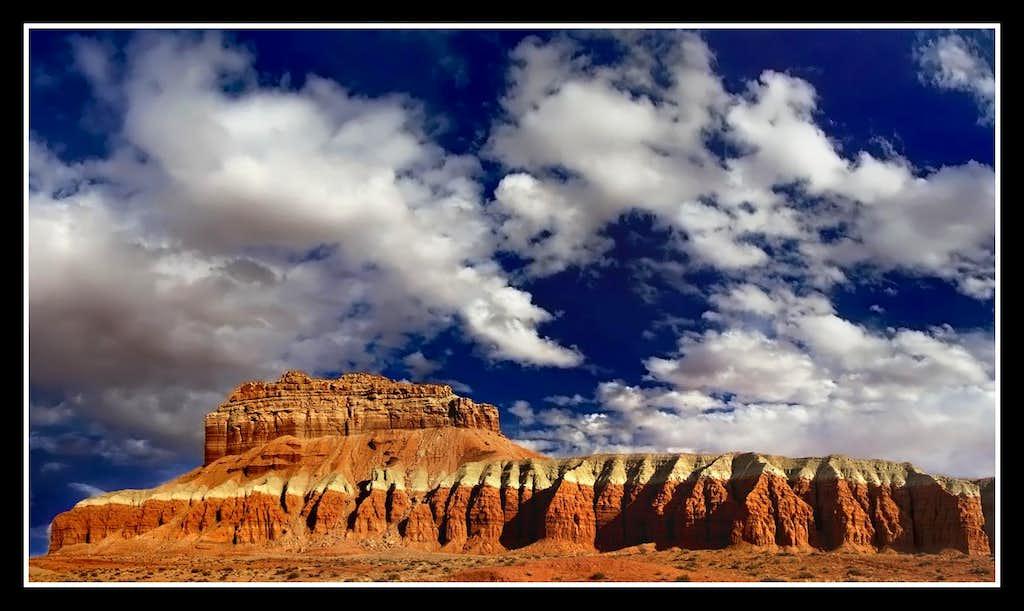 Cliffs above Little Wild Horse Canyon