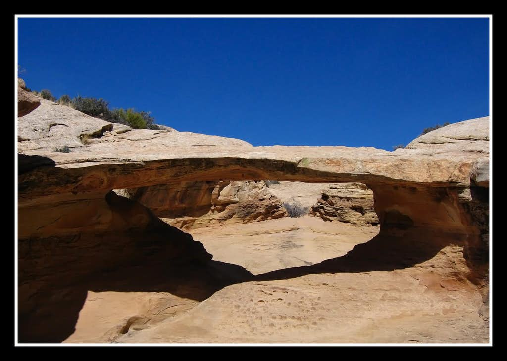 Arch in Quandry Canyon