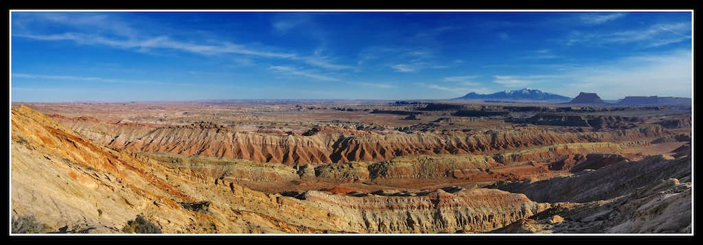 Henry's and Factory Butte