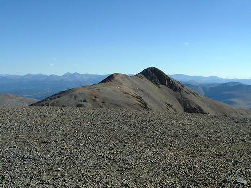 Mt Lincoln from Mt Cameron...