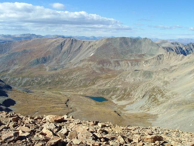 A good view of Kite Lake from...