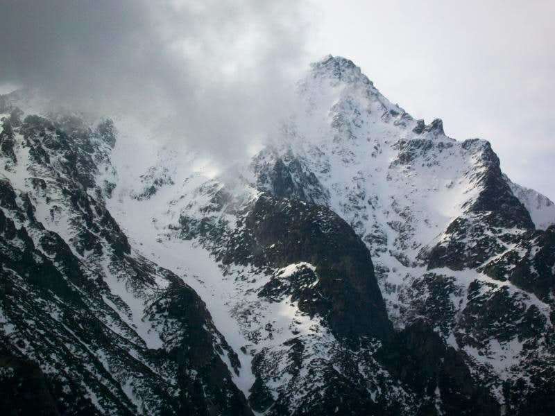 The massif of Slavkovsky