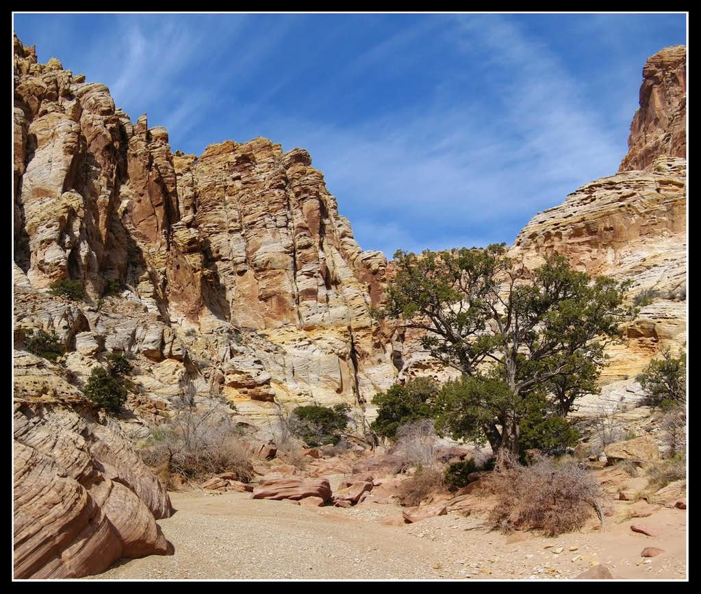 Faultline Canyon Junction