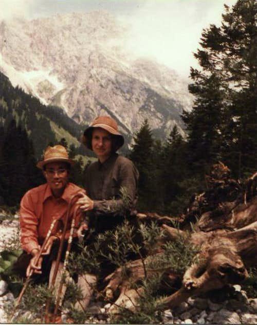 Hiking in the Hochkönig area - 1979