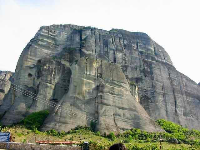 View of Kastraki - Kalampaka