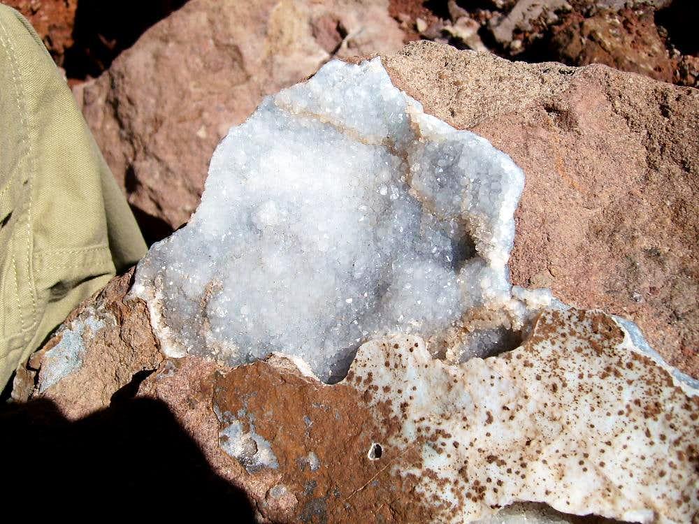 Quartz crystals ?