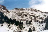 The highest peak Chatzipetros...