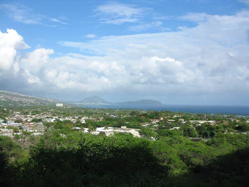 Koko Crater from Diamond Head Road