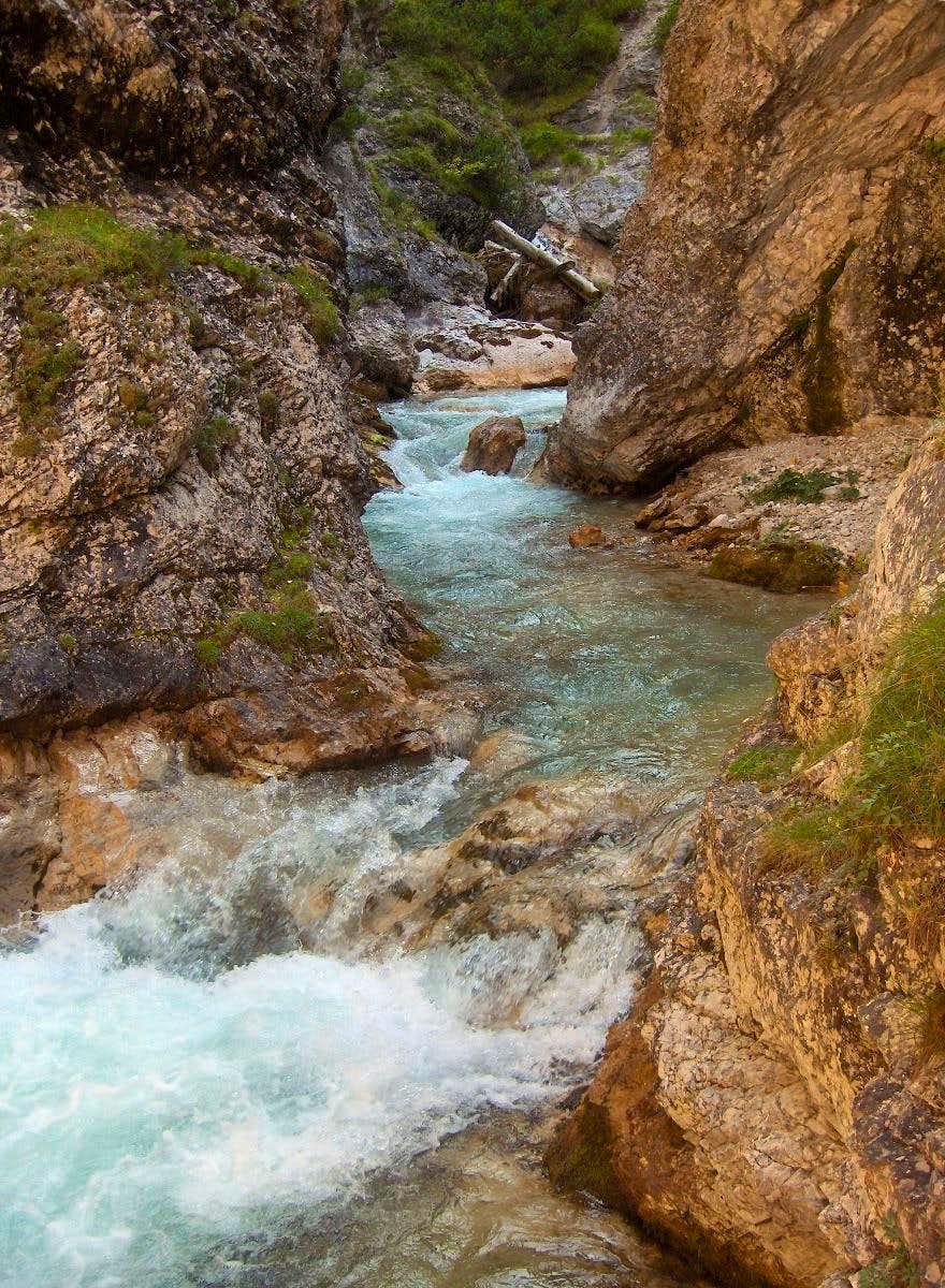 Gleirschbach canyon