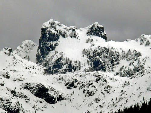 One of the Summit's of Gunn Peak