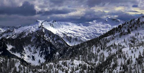 Lennox Mountain Panorama