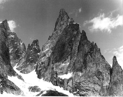 aiguille noire west side from...