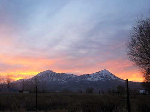 Lamborn and Landsend Sunrise