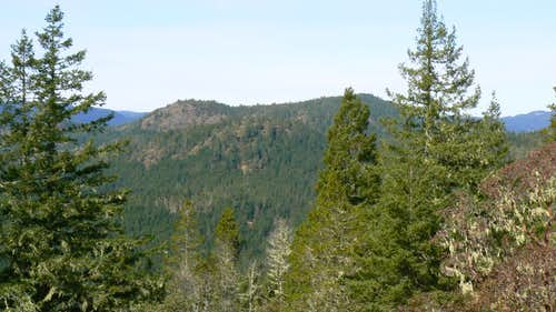 Peden Bluffs and Black Bear Mountain