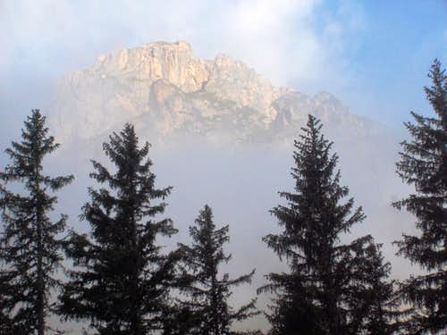 Morning mist on the Dürrenstein