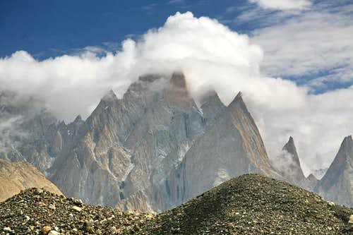 Baltoro Cathedrals, Karakoram, Pakistan