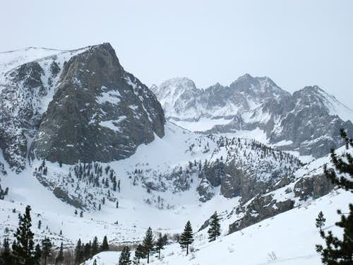 Middle Palisade and Norman Clyde Peak