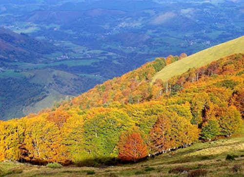 Autumn in the Baronnies