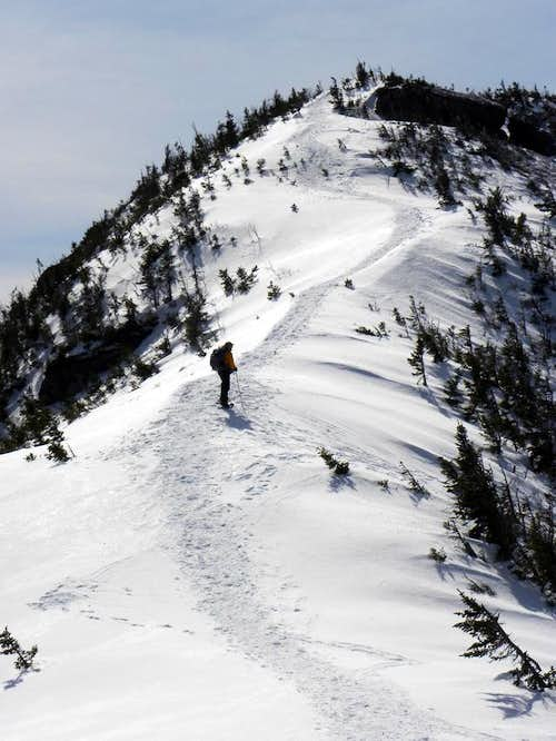 Kevin on Gothics\' Snow Cornice