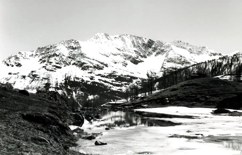 MOUNT COLMET from Little Saint Bernard Valley