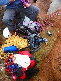 Preparing the equipment...