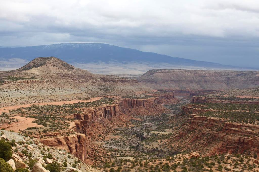 another view into the canyon