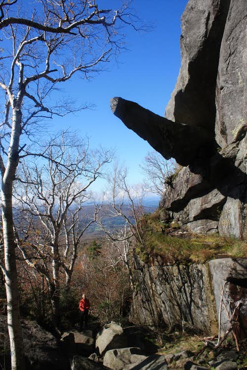 Cantilever Rock, Mount Mansfield, Vermont.