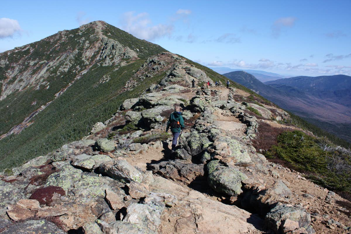 Franconia Notch Ridge to Mount Lafayette, New Hampshire