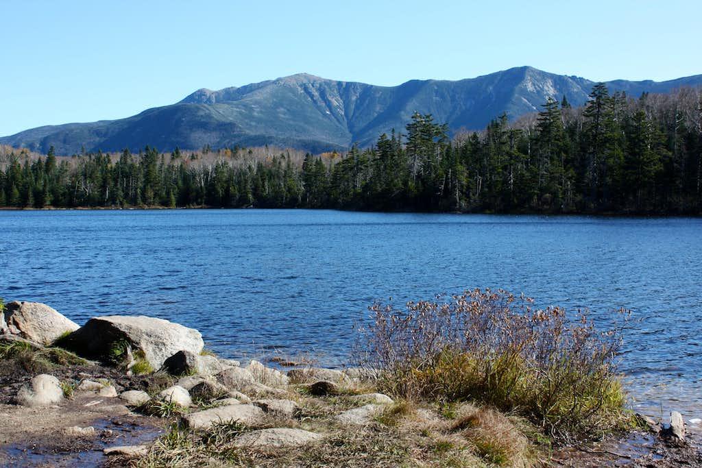 Franconia Ridge from Lonesome Lake, New Hampshire