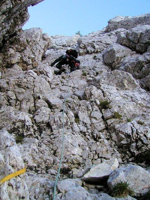 Climbing in Rusica on a...