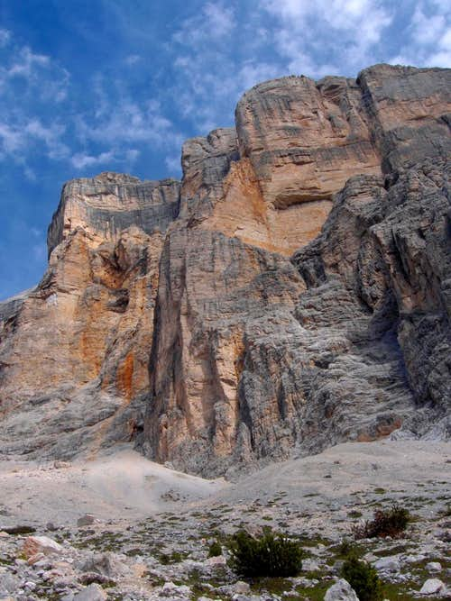 Crossing the Dolomites
