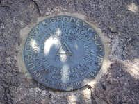 USGS Marker Close-Up