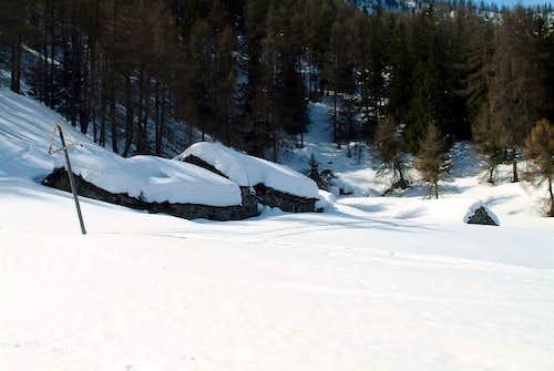 Mont Corquet Fontana Fredda Old Alp