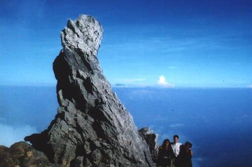 a extraordinary rock called...
