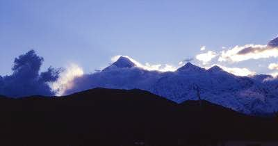 Dhaulagiri Himal, seen from...