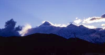 Dhaulagiri Himal, seen from...