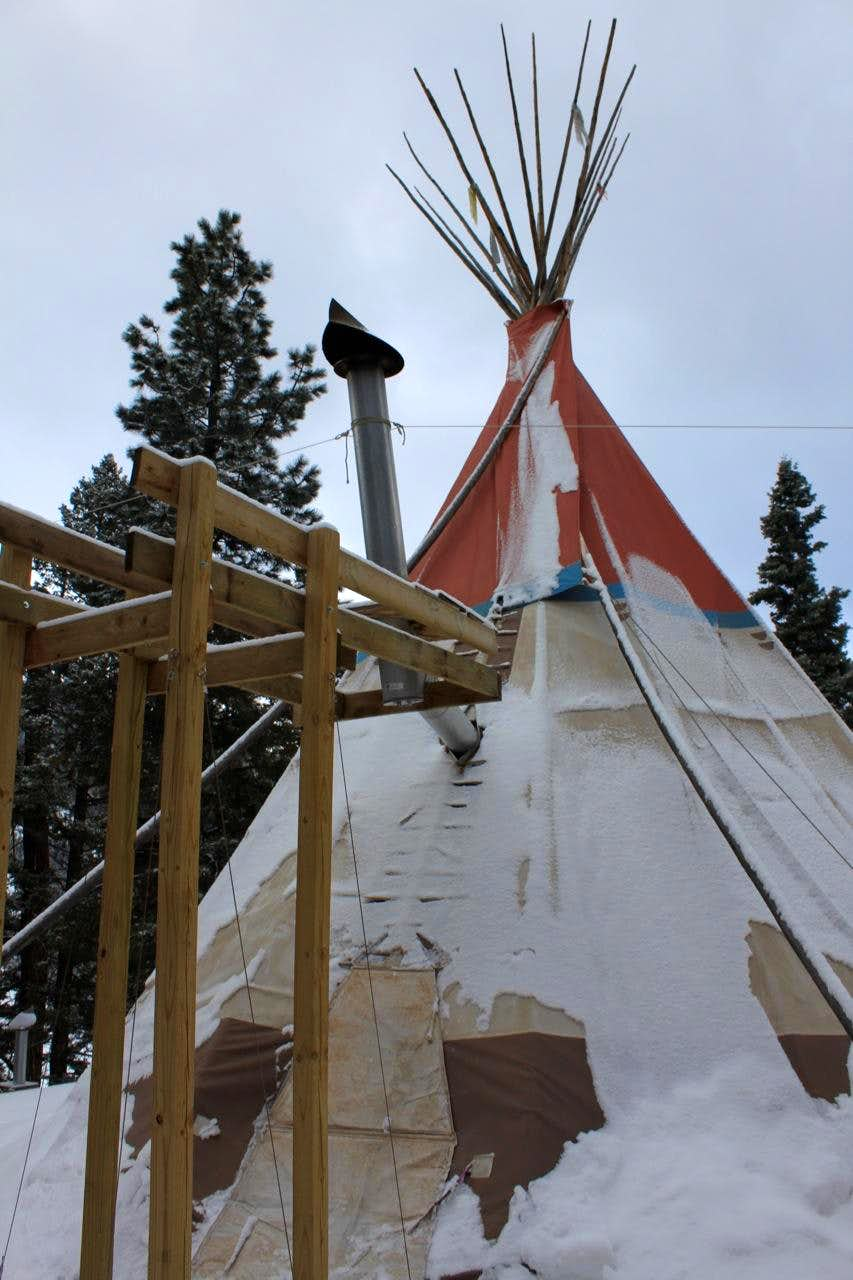 A Man from a Tipi