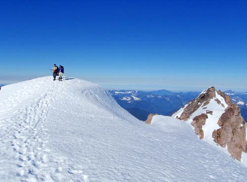 On Top Of Glacier Peak