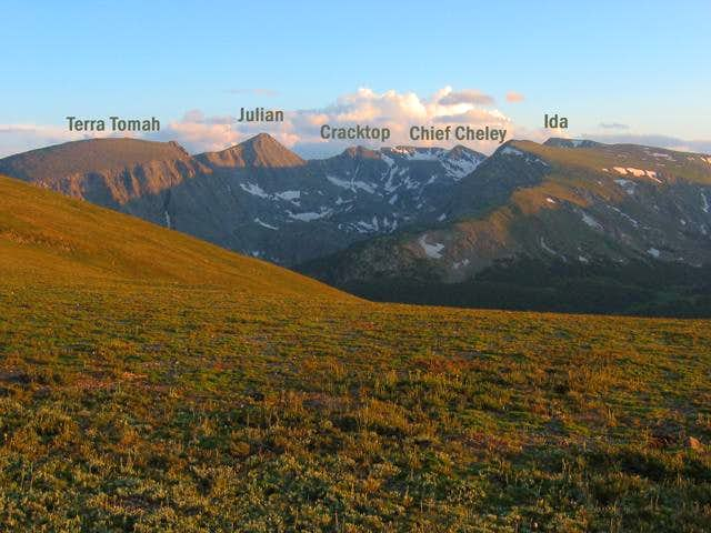 As seen from Trail Ridge...