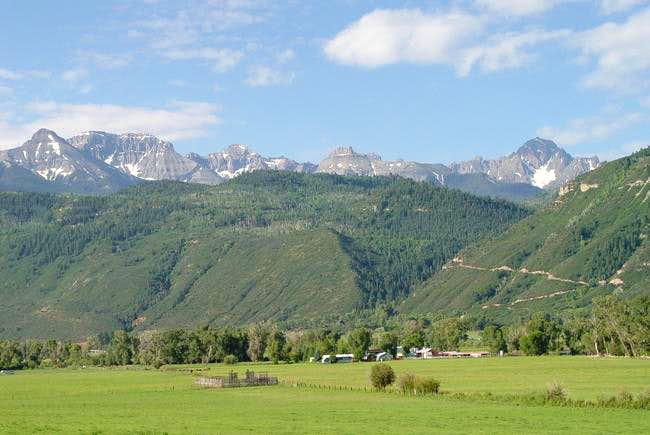 Just outside Ouray. July 11,...