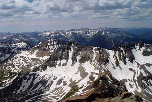 Gilpin Peak and Blue Lakes...
