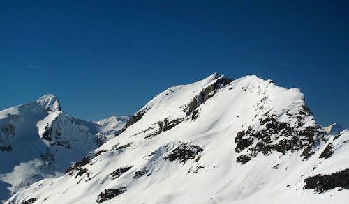 Gamskarlspitze (2833m) and Schönbretterkogel (2738m)