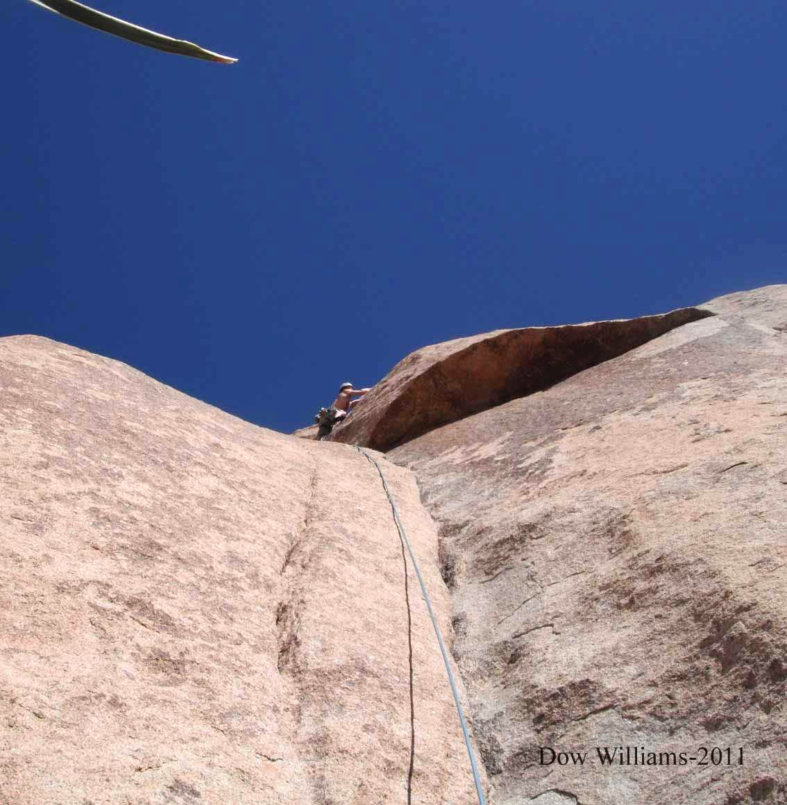 Echo Rock, South Side 5.8-5.13a