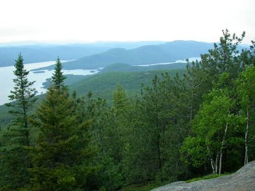 View from the summit of Buck...