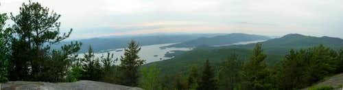 View from the summit....