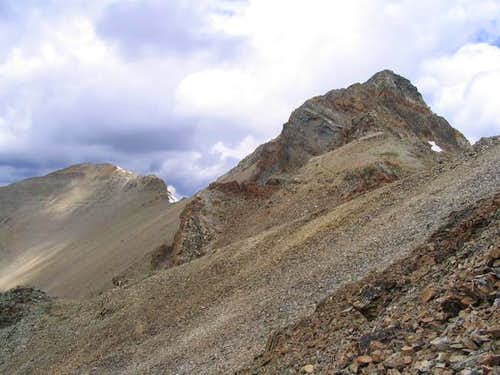 Approaching the summit, July 04
