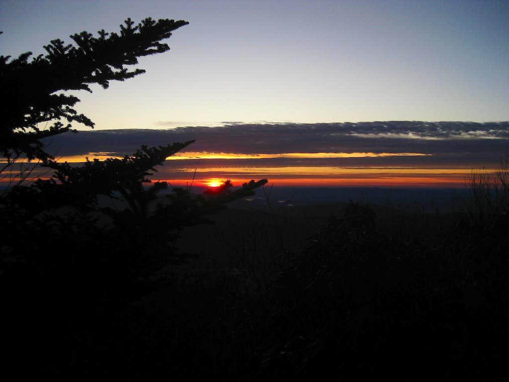 Sunrise Near Horse Rock