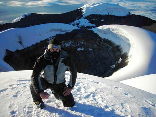Cotopaxi\'s summit