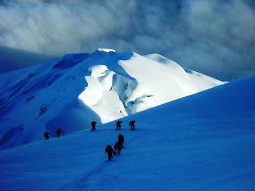 Coming down from Cotopaxi
